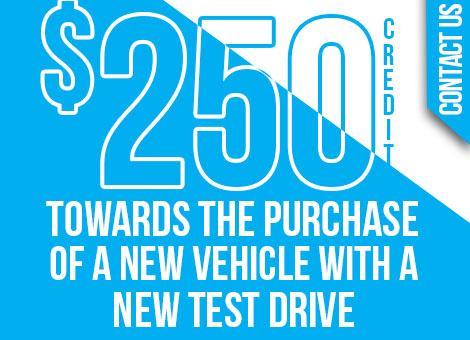 Plattner Chiefland Test Drive Credit