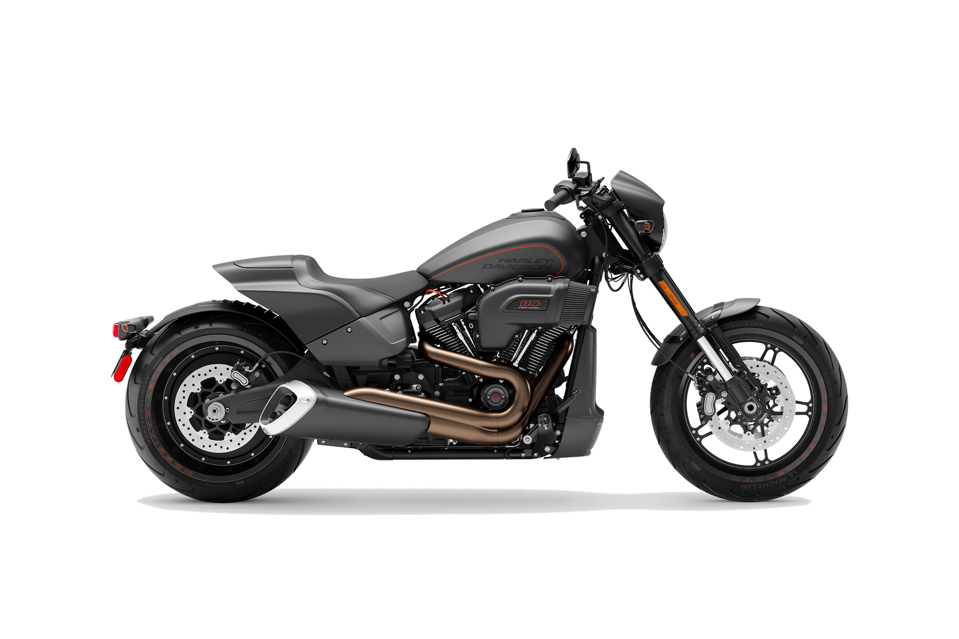2019 H-D® FXDR™ 114 in Black Denim