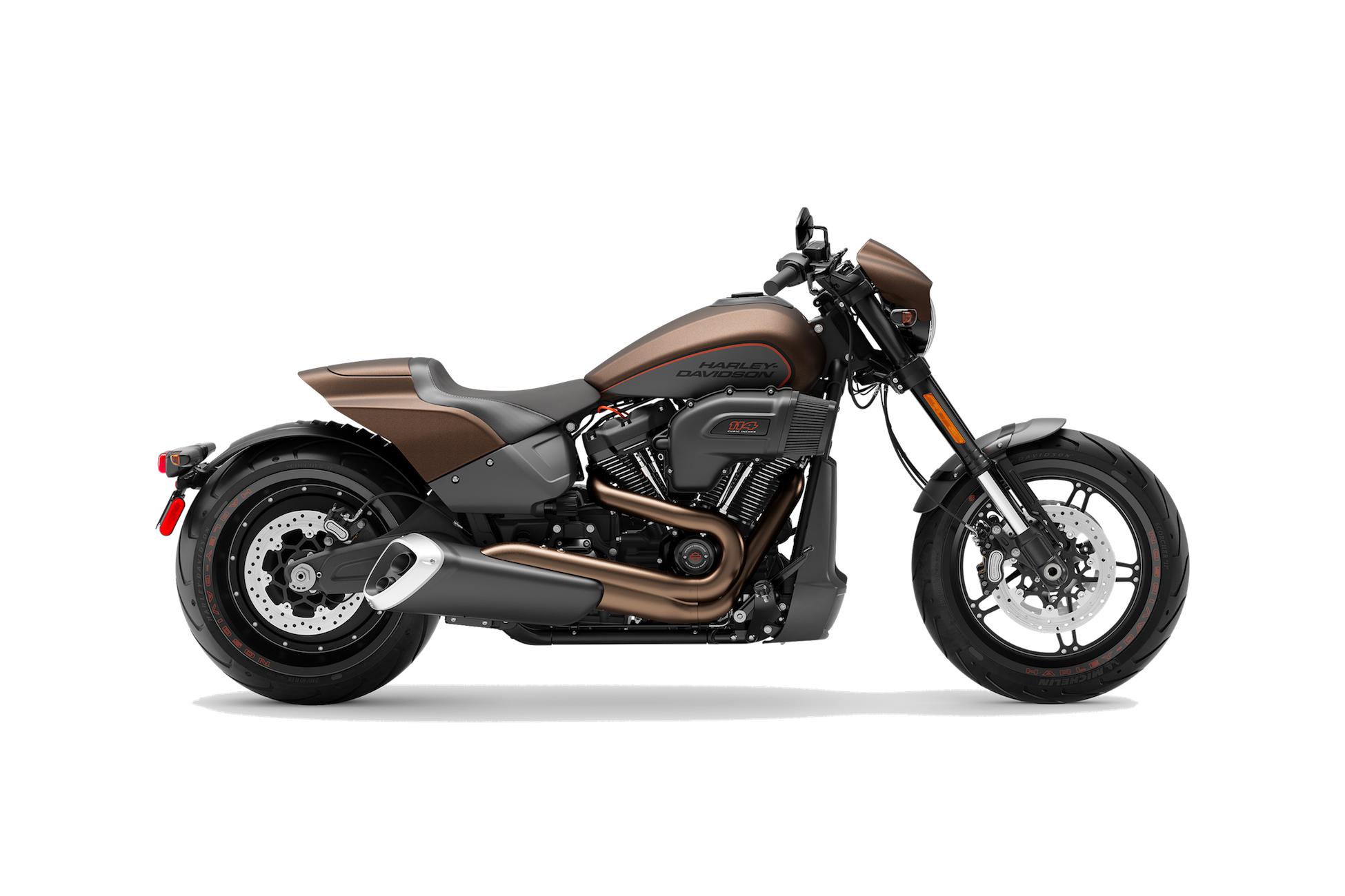 2019 H-D® FXDR™ 114 in Rawhide Denim