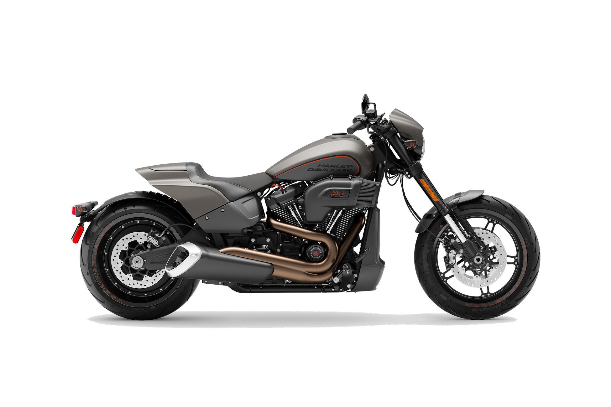 2019 H-D® FXDR™ 114 in Industrial Gray Denim
