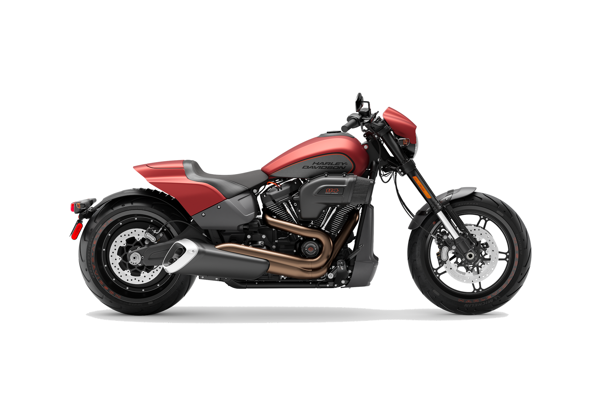 2019 H-D® FXDR™ 114 in Wicked Red Denim
