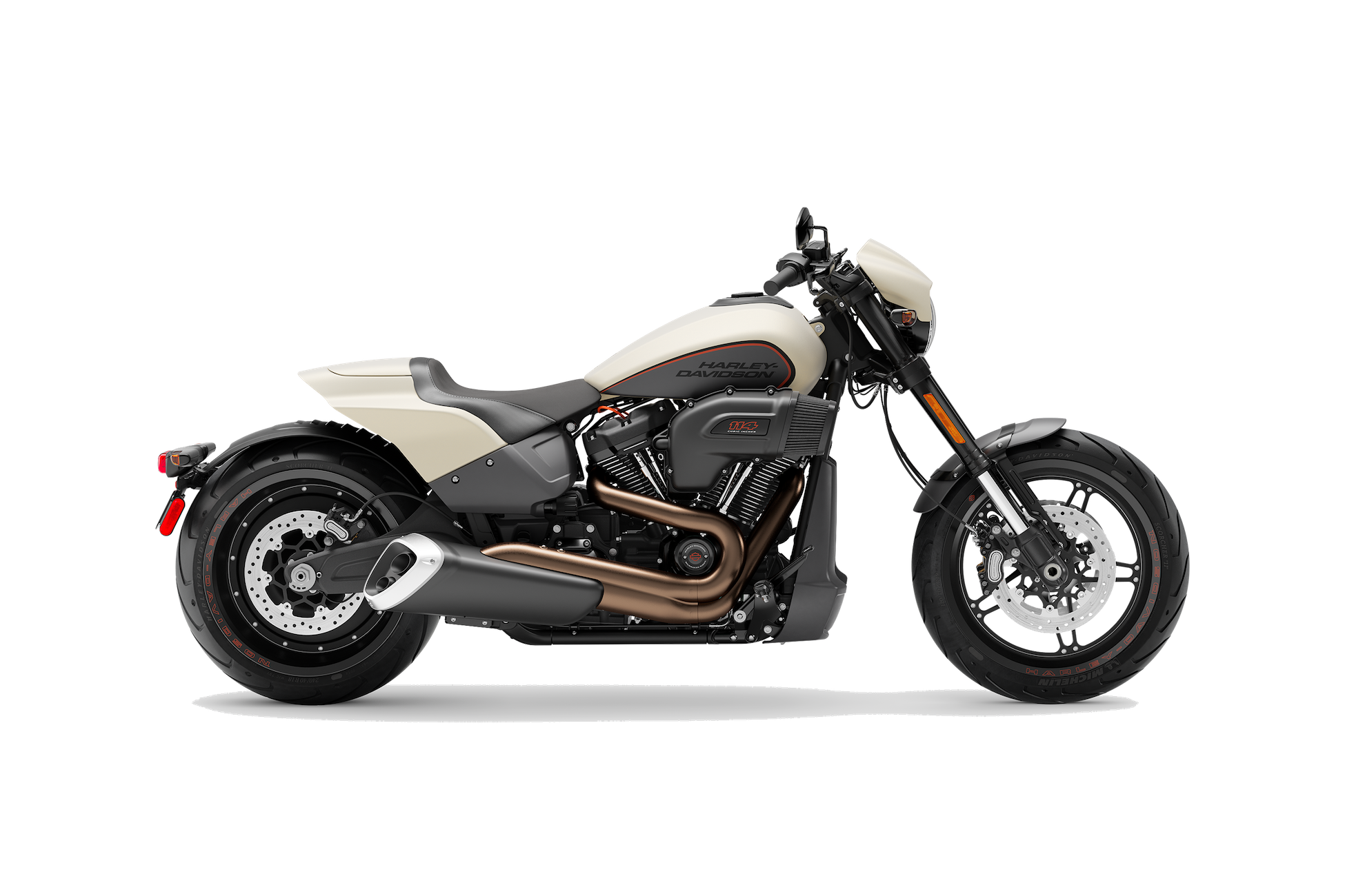 2019 H-D® FXDR™ 114 in Bonneville Salt Denim