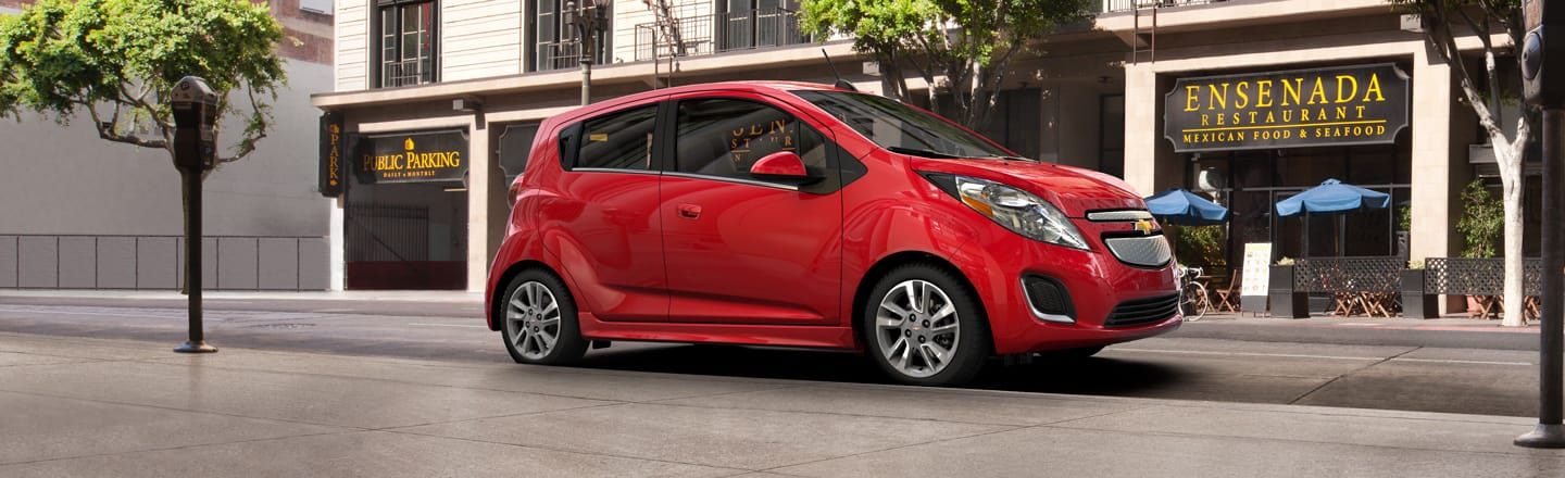 Red Chevy Spark