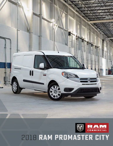 2018 ram promaster city catalog