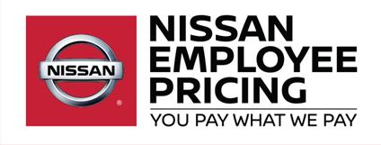 nissan employee pricing logo
