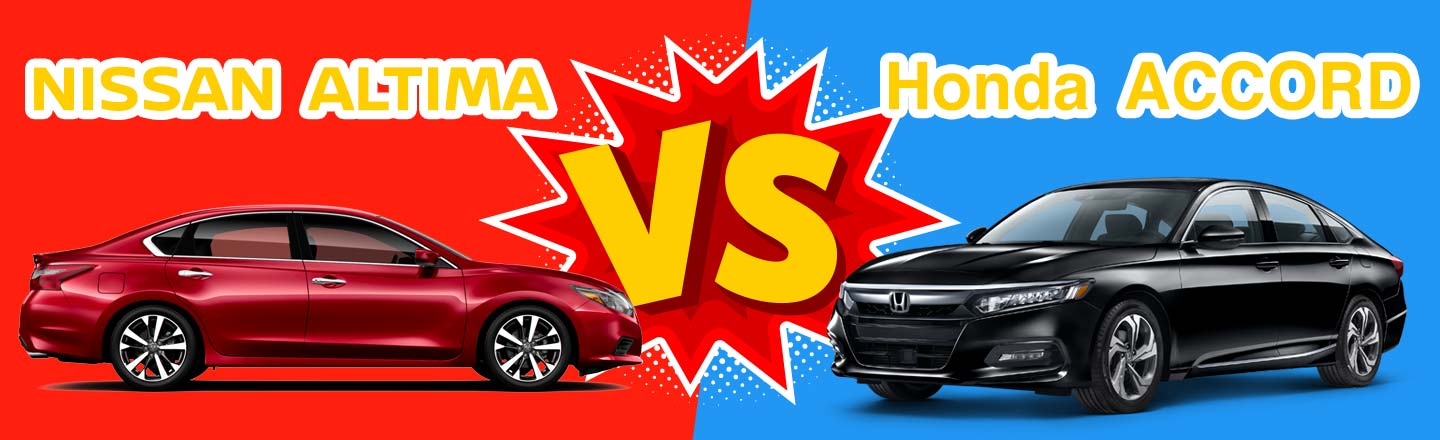 2018 Nissan Altima vs. 2018 Honda Accord