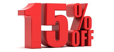 15% Accessories Special