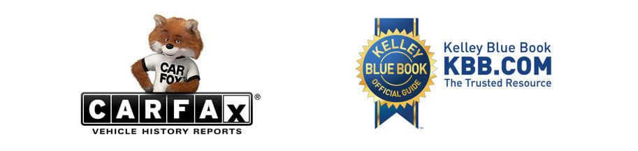 Carfax and KBB logos