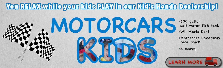 Lovely Motorcars Honda Motorcars Kids Banner