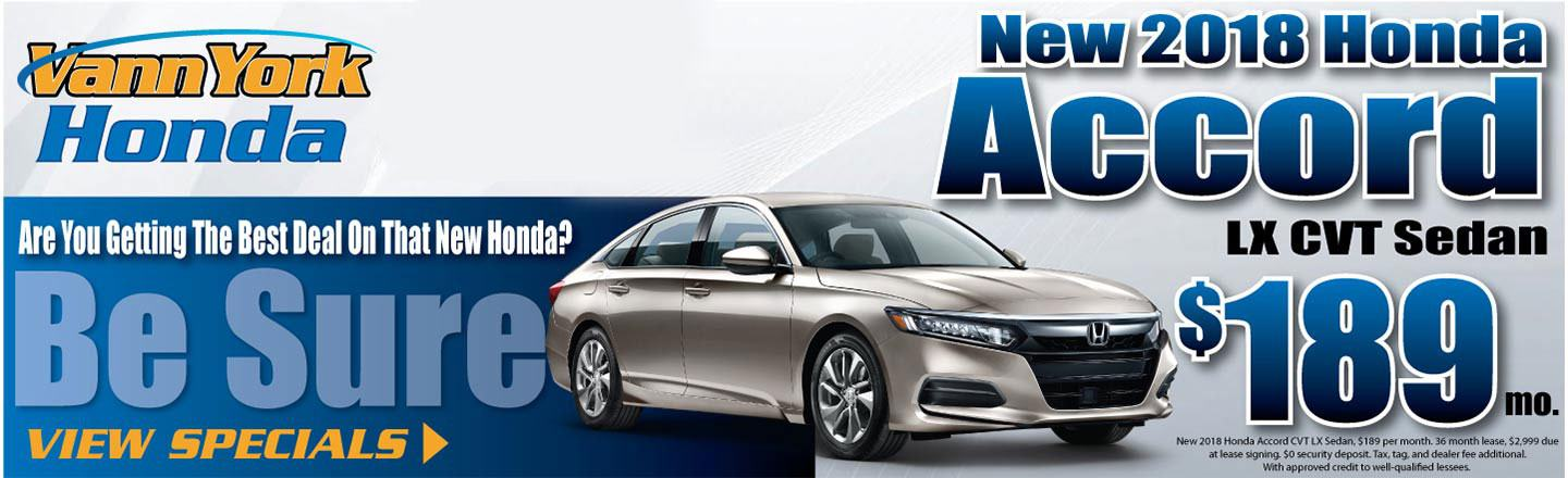 Delightful 2018 Honda ACCORD LX Sedan