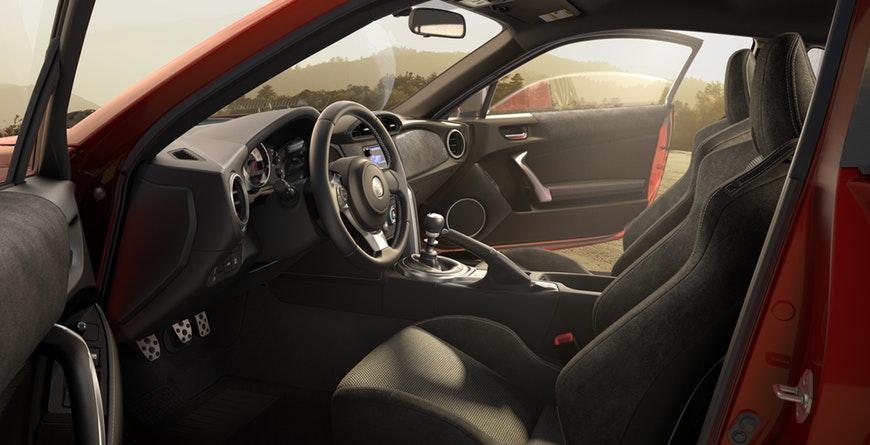 2019 Toyota 86 interior Granlux trim