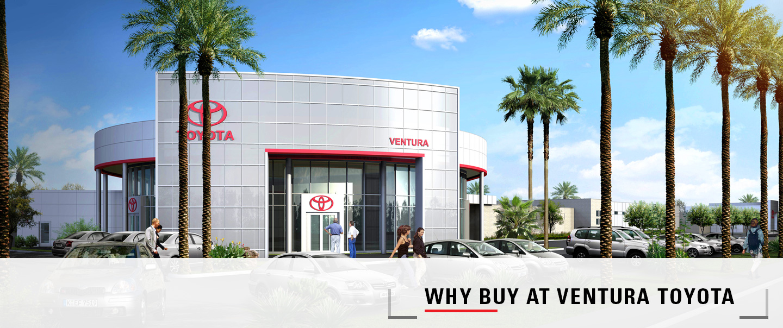 Why buy at Ventura Toyota car dealership near Oxnard