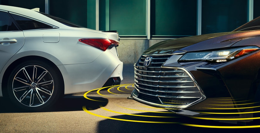 2019 Toyota Avalon Clearance Sonar with Rear Cross-Traffic Braking