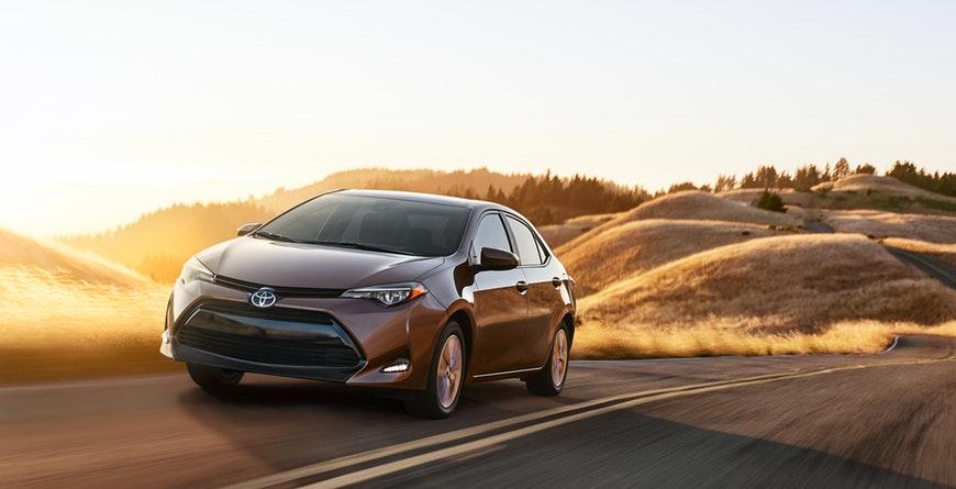 2019 Toyota Corolla Aerodynamics