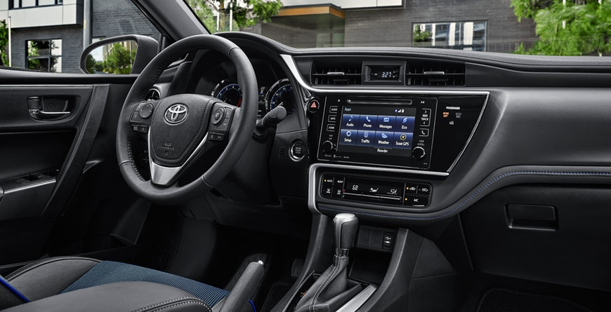 2019 Toyota Corolla Fluid Dashboard
