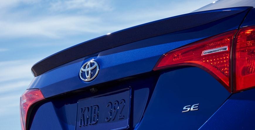 2019 Toyota Corolla Rear Spoiler