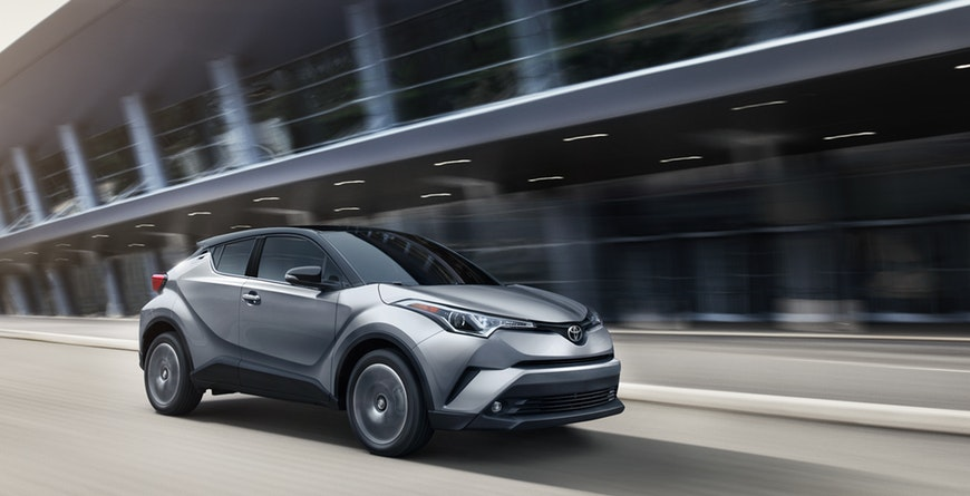 2019 Toyota C-HR Diamond-like Exterior Styling