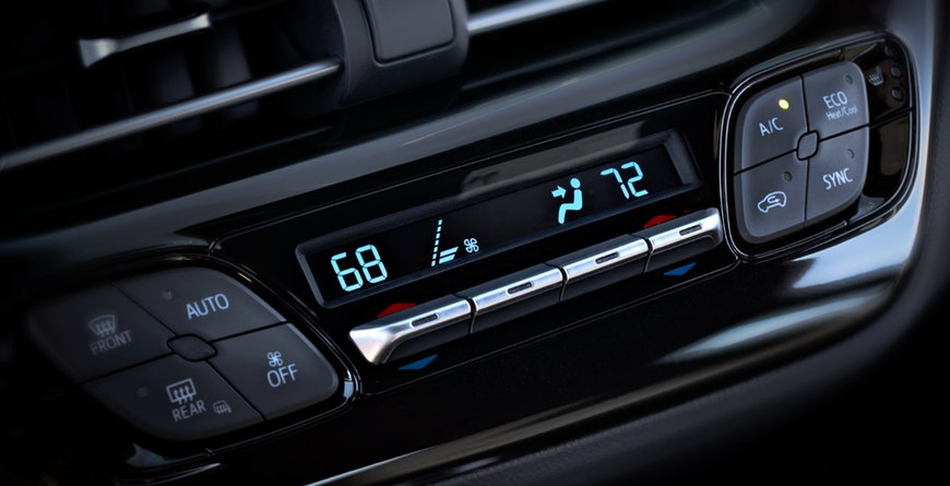 2019 Toyota C-HR Standard dual zone climate control