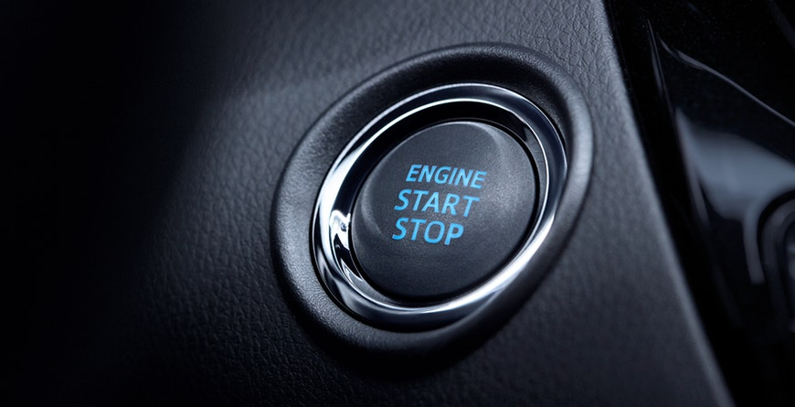2019 Toyota C-HR Available Smart Key System with Push Button Start