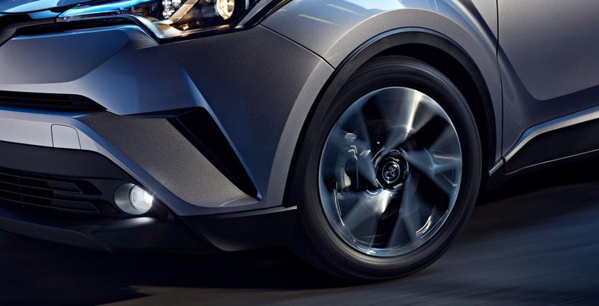 2019 Toyota C-HR Sport-tuned suspension