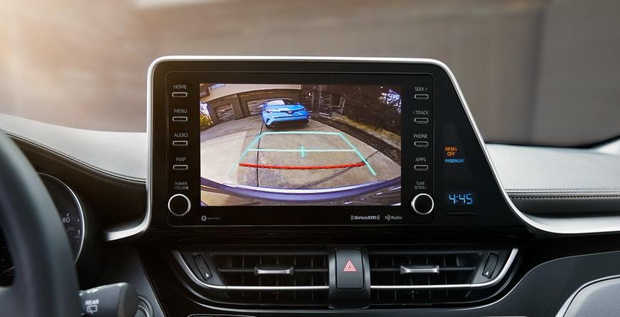 2019 Toyota C-HR Integrated backup camera