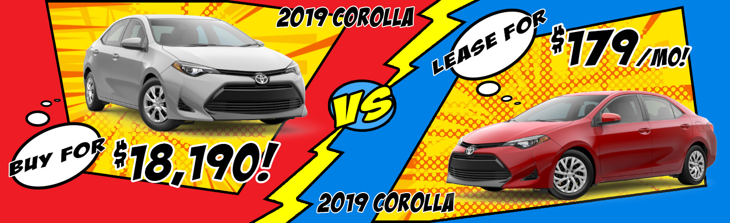 2018 Corolla Special Offer