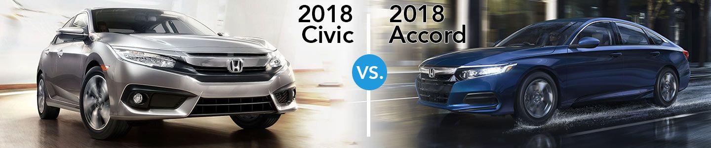 2018 Civic vs 2018 Accord Compare Models