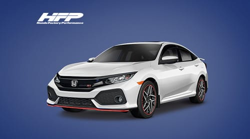 The HFP Civic Si Sedan package