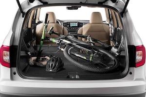 2019 Honda Pilot cargo space