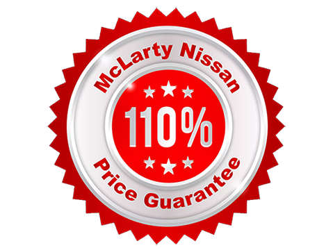 mclarty nissan price guarantee