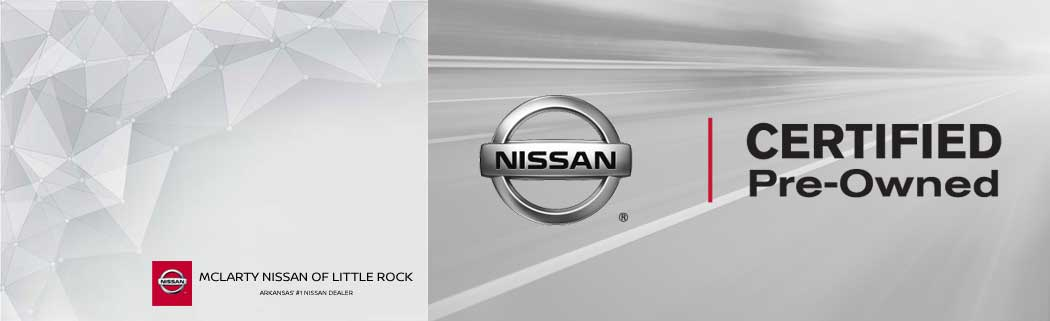 mclarty nissan of little rock certified pre-owned