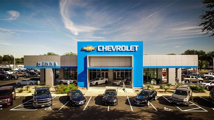 Henna Chevrolet Dealership