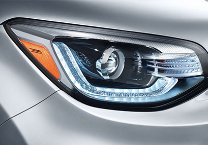 New Kia Soul Headlight