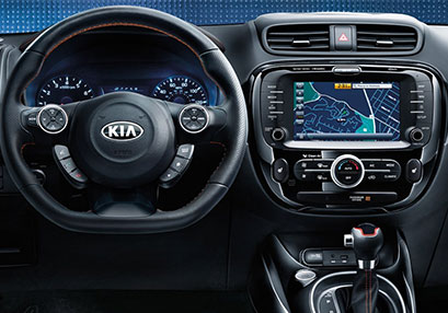 2019 Kia Soul Interior Steering Wheel