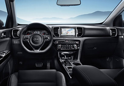 2019 Kia Sportage Interior Steering Wheel