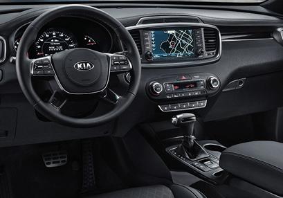 New Kia Sorento Interior
