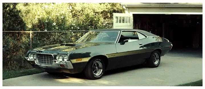 Famous Movie Cars - Gran Torino
