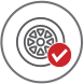 toyota select tires icon