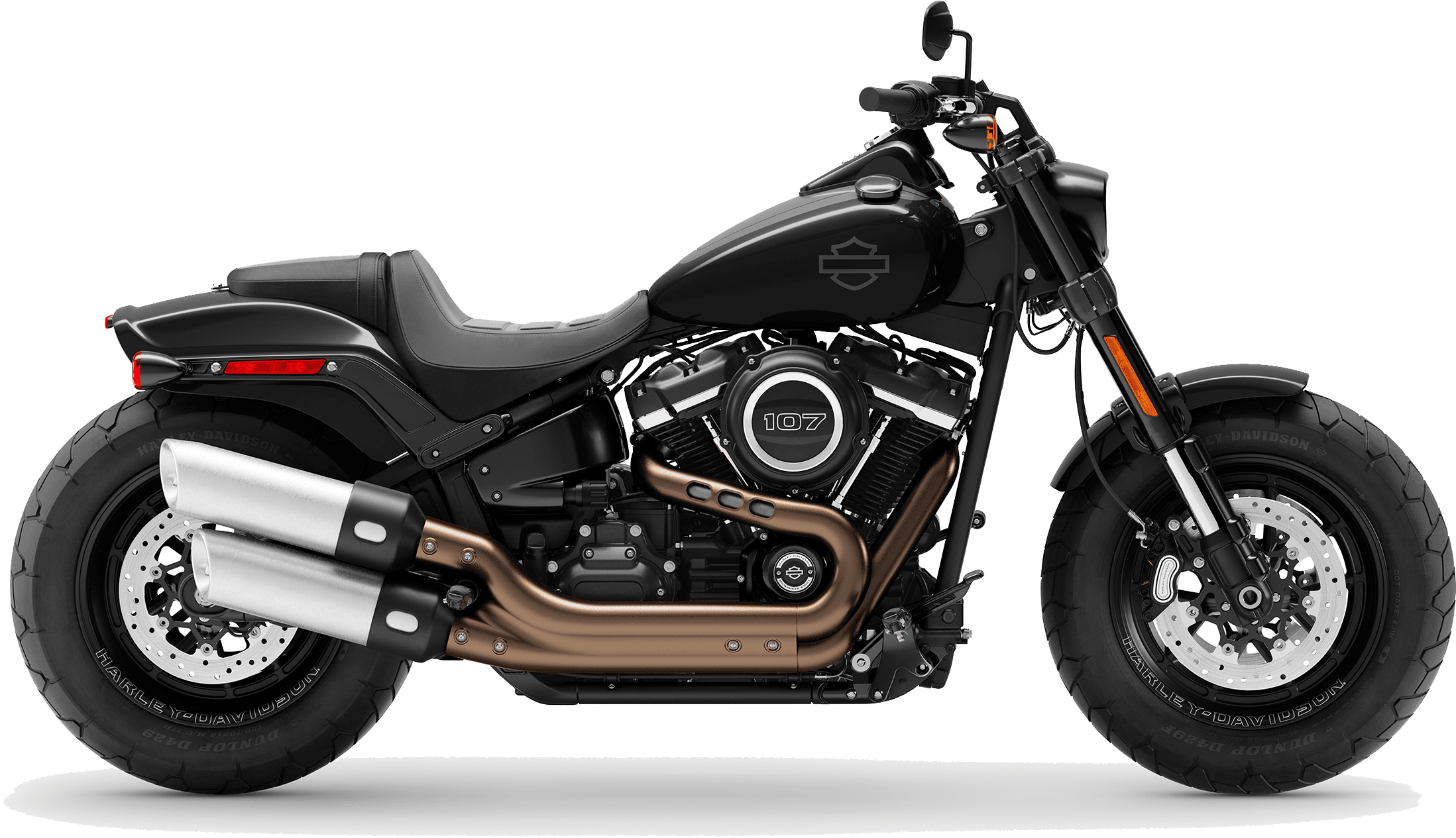 2019 Harley-Davidson Softail Fat Bob Vivid Black