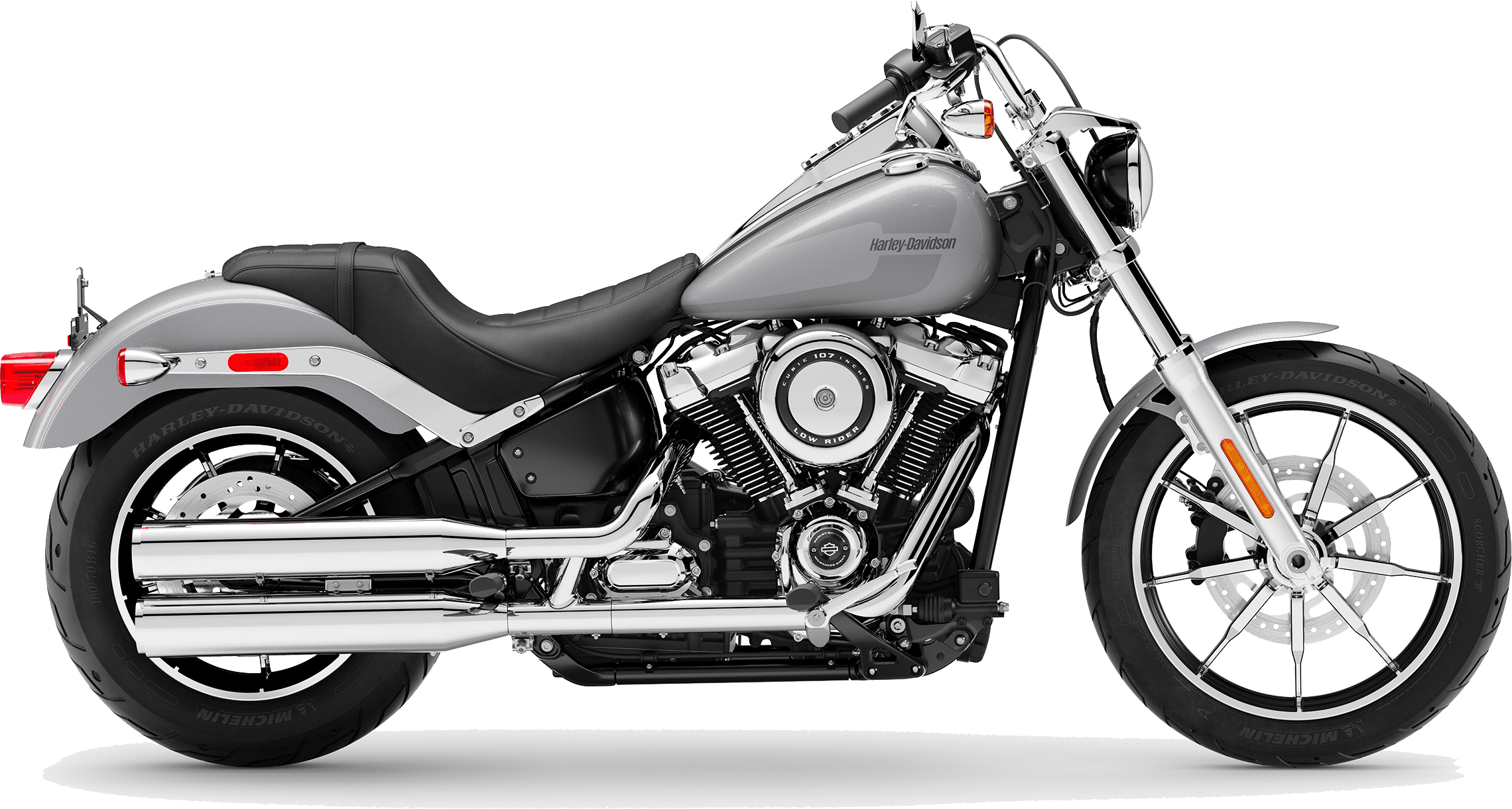 2019 Harley-Davidson Softail Low Rider® Barracuda Silver