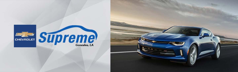 Supreme Chevrolet Gonzales Near Ascension and South Baton Rouge, LA