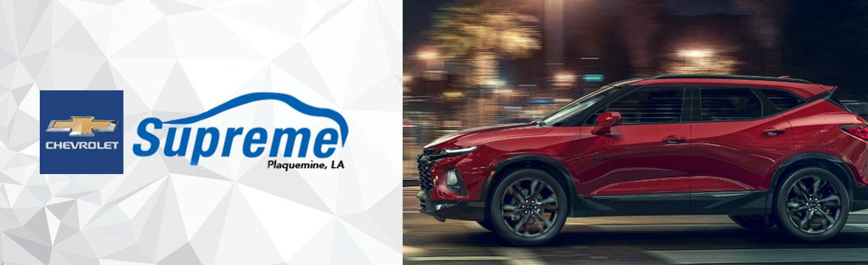 Chevrolet Parts and Accessories for Plaquemine, LA Drivers