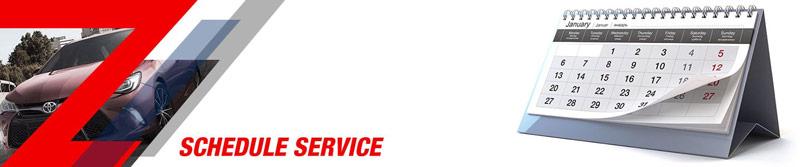 Gosch Toyota schedule service