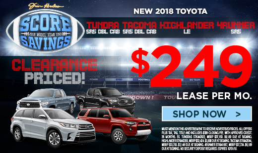 Perfect Toyota Lease Specials And Financing Offers From Jim Hudson Toyota Dealer