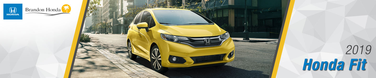 2019 Honda Fit Compact Cars For Sale at Brandon Honda in Tampa, FL