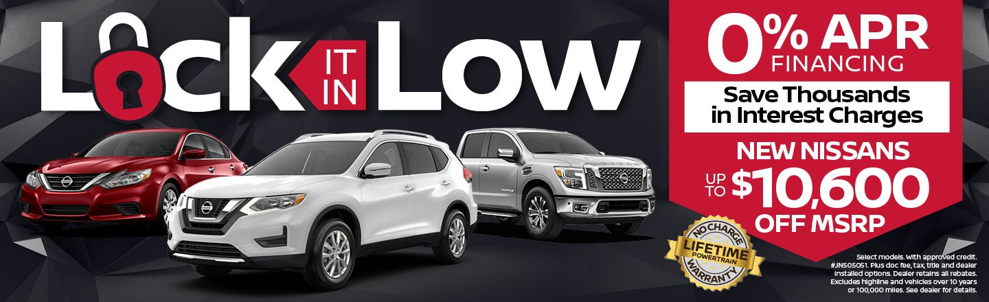 Benton Nissan Of Bessemer | Lock It In Low