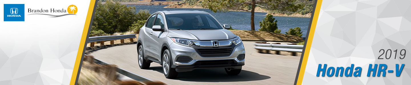 2019 Honda HR-V Crossover SUVs For Sale at Brandon Honda in Tampa, FL