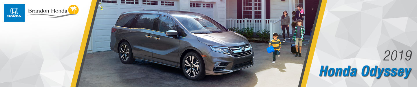 2019 Honda Odyssey Minivans For Sale at Brandon Honda in Tampa, FL