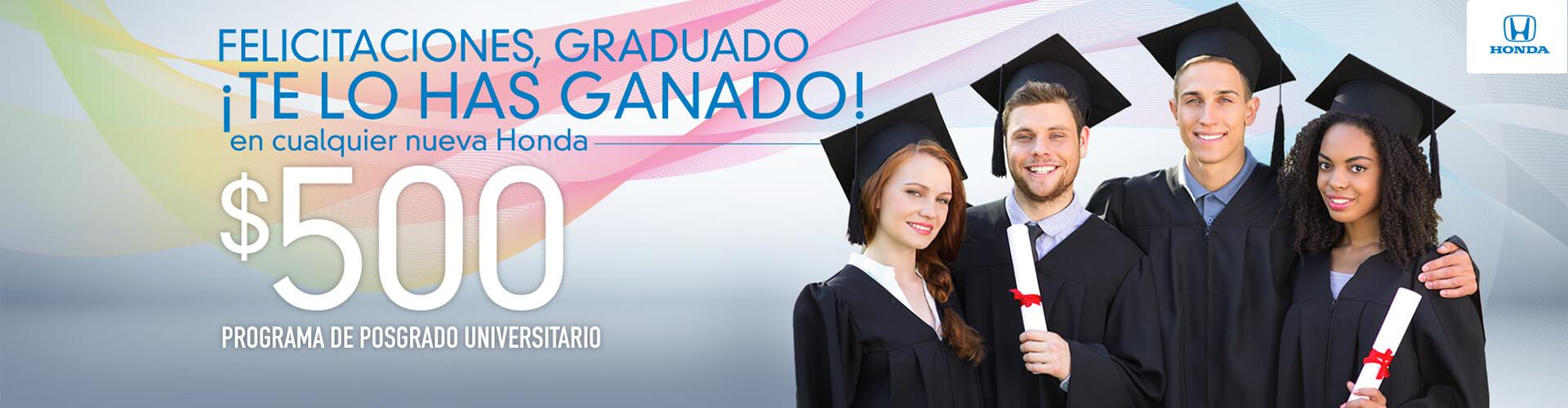 Oferta para Graduados