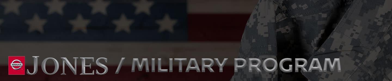 Jones Nissan Military Program